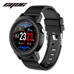 CYUC NY01 Smart watch Full round screen color message reminder Heart rate monitor fashion Smartwatch Sport Fitness Tracker