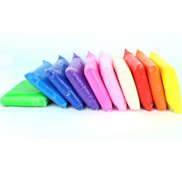 24pcs DIY Play Doh Slime Fimo Polymer Plasticine Plasticine Clay DIY Light Creative Handgum Toys Slime Clay Air Dry Playdough