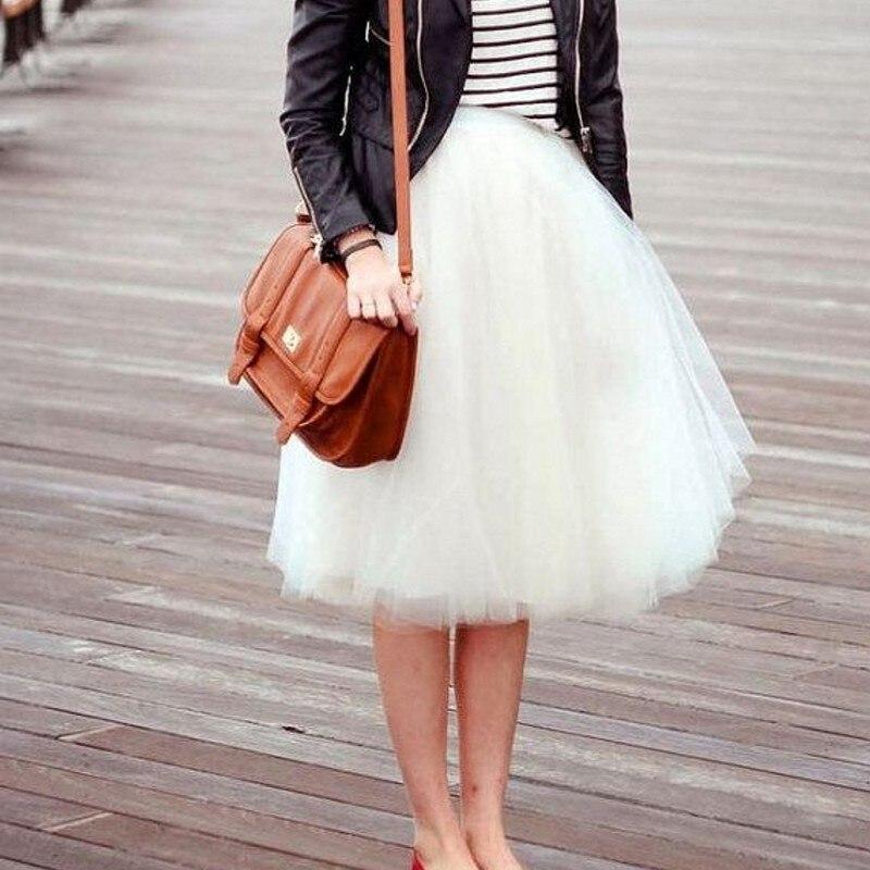 Модные белые юбки фото
