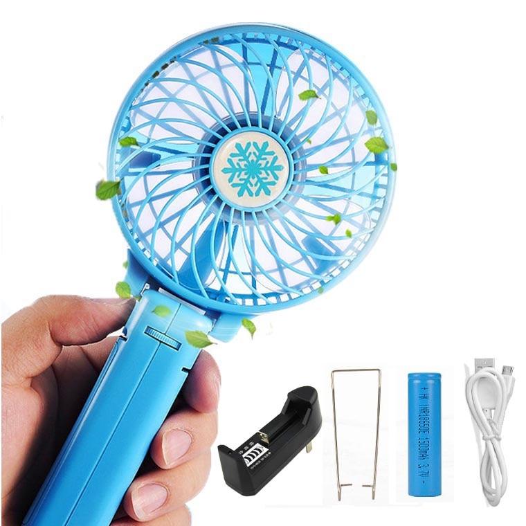 Fan Electric Personal Fans Hand Bar Desktop Fan foldable hand fans ...