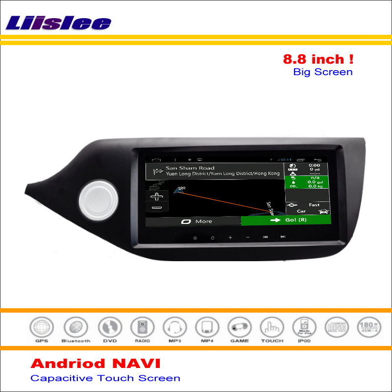 Liislee автомобиля Android gps Navi навигации системы для Kia Ceed (JD) 2012 ~ 2016 Радио Стерео Аудио Видео Мультимедиа (без DVD плеер