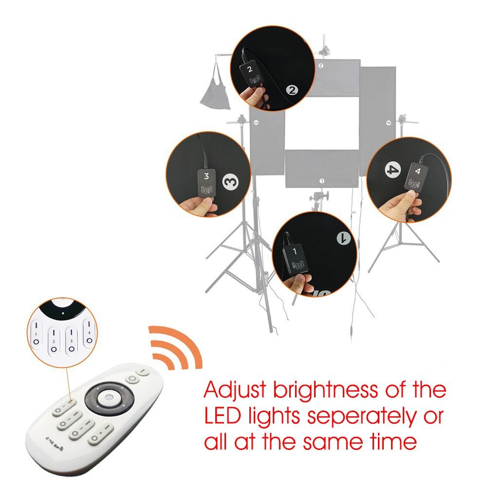capsaver 4 in 1 Kit de iluminat Headshot LED Iluminare fotografică - Camera și fotografia - Fotografie 3