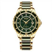 Mens Mechanical Luxury Watch Jade Automatic Waterproof Luminous Green Water Ghost Relogio Masculino