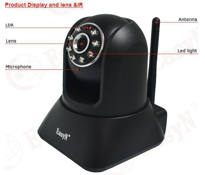 Беспроводная Ip-камера, ИК Ночного Видения P2P Беспроводной Домофон