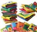 8 páginas infantil brinquedo do bebê livro de pano sol toys forma Número de animais Boneca de Brinquedo Para 0-3Y Primeiros Livros de Desenvolvimento Crianças presentes