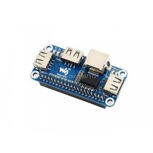 Image 3 - raspberry pi zero W WH Ethernet J45 USB HUB HAT