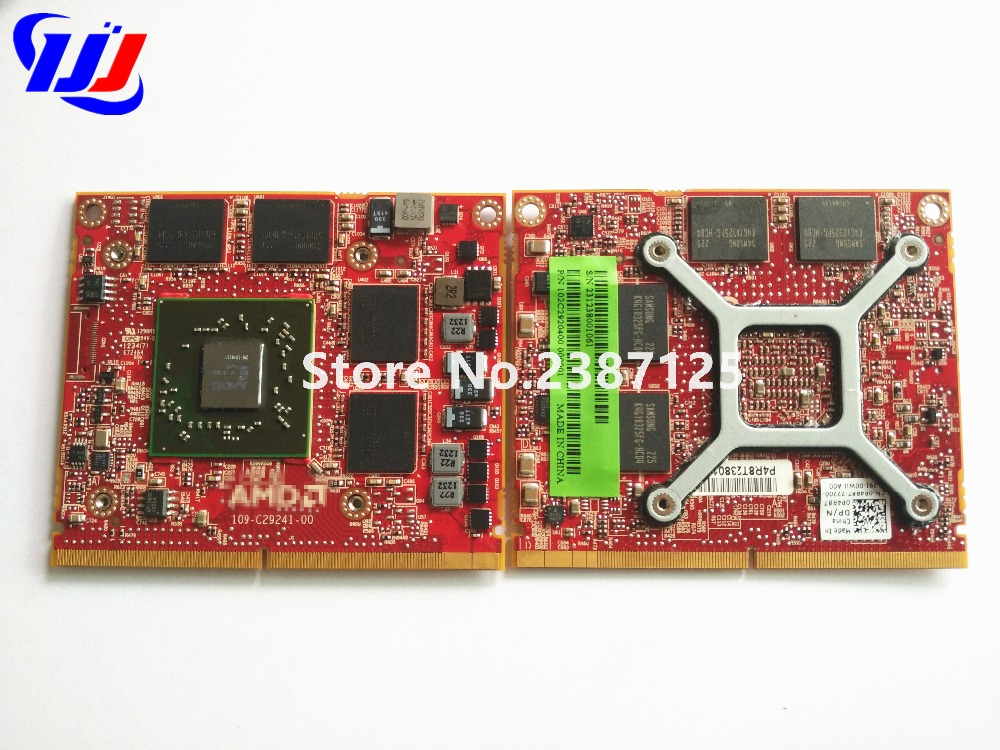 670940-001 HD6770M HD 6770M M5950 216-0810001 DDR5 1GB MXM A VGA Video Card For D e L L M4600 M5950 6700M