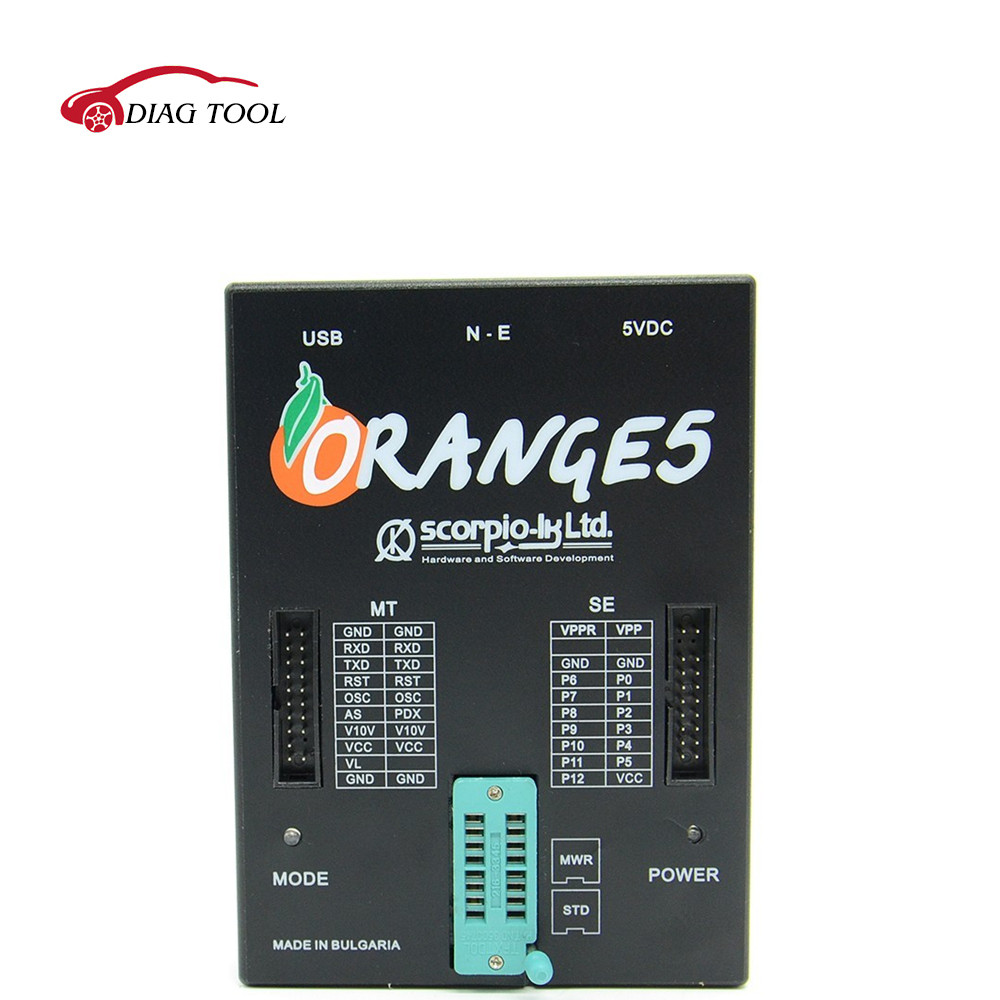 Hot!!!Special Offer OEM Orange5 Professional Programming Device With Full Packet Hardware + Enhanced Function Software orange 5