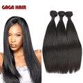 100% Малайзийские Виргинские Волосы Прямые Человеческие Волосы Соткать Утка 7А Необработанные Малайзии Прямые Волосы 8-30 дюймов Волос Гага расширения