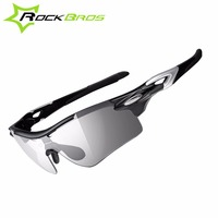 ROCKBROS Polarized Photochromic Cycling Bike Glasses Outdoor Sports Bicycle Sunglasses Goggles Eyewear With Myopia Frame 3