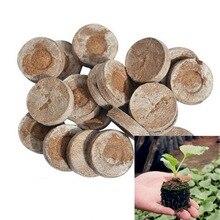 Кокосовый торф гранулы семян начиная Вилки стартер роста семян поддон блоки грунта под рассаду Профессиональный Легко Применение 1 шт./упак