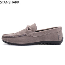 New spring summer 2019 Driving Comfortable Casual Shoes Suede Men Flats Moccasins Slip On Loafers Men Oxfords Shoes стоимость