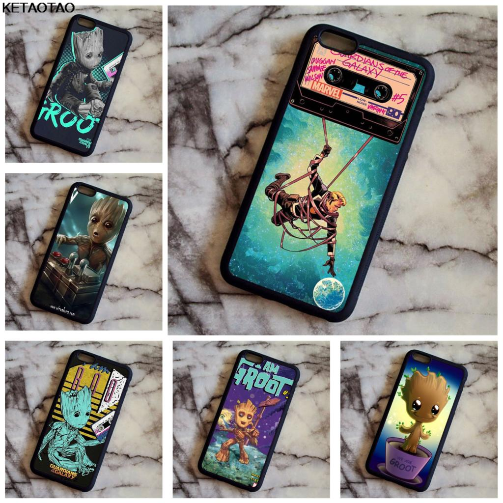 KETAOTAO Guardians Of For The Marvel Galaxy Phone Cases for Samsung galaxy S4 S5 S6 S7 S8 S9 Note Case Soft TPU Rubber Silicone