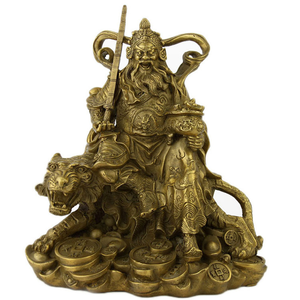 FengShui Brass god of wealth Figurines/BRASS GOD Of Wealth /OTHER BUDDHAFengShui Brass god of wealth Figurines/BRASS GOD Of Wealth /OTHER BUDDHA
