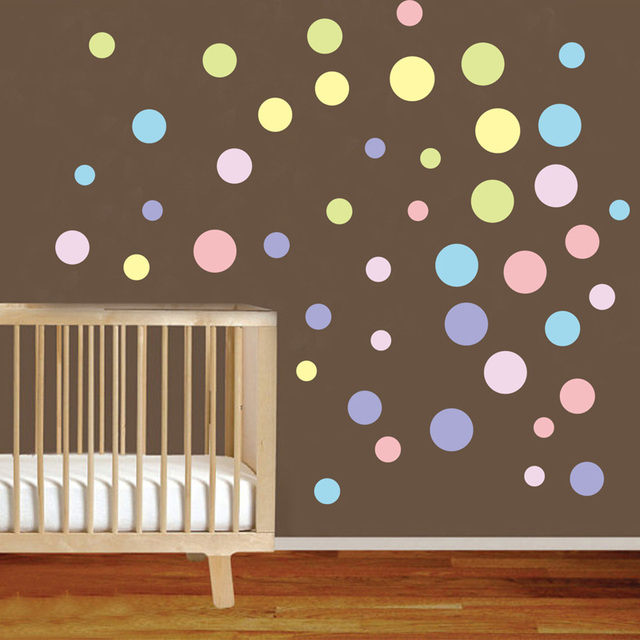 Colorful Circles Wall Sticker 2