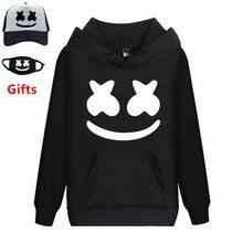 3f8511e5a538d4 Cap Mask as Gifts Marshmello hoodies sweatshirts men women hip hop Rapper  Bboy dancer DJ pullover hooded