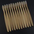 best cheap 12PCS/lot bamboo dental Care Soft Bristle Eco friendly  wooden Bamboo Toothbrush  tongue scraper