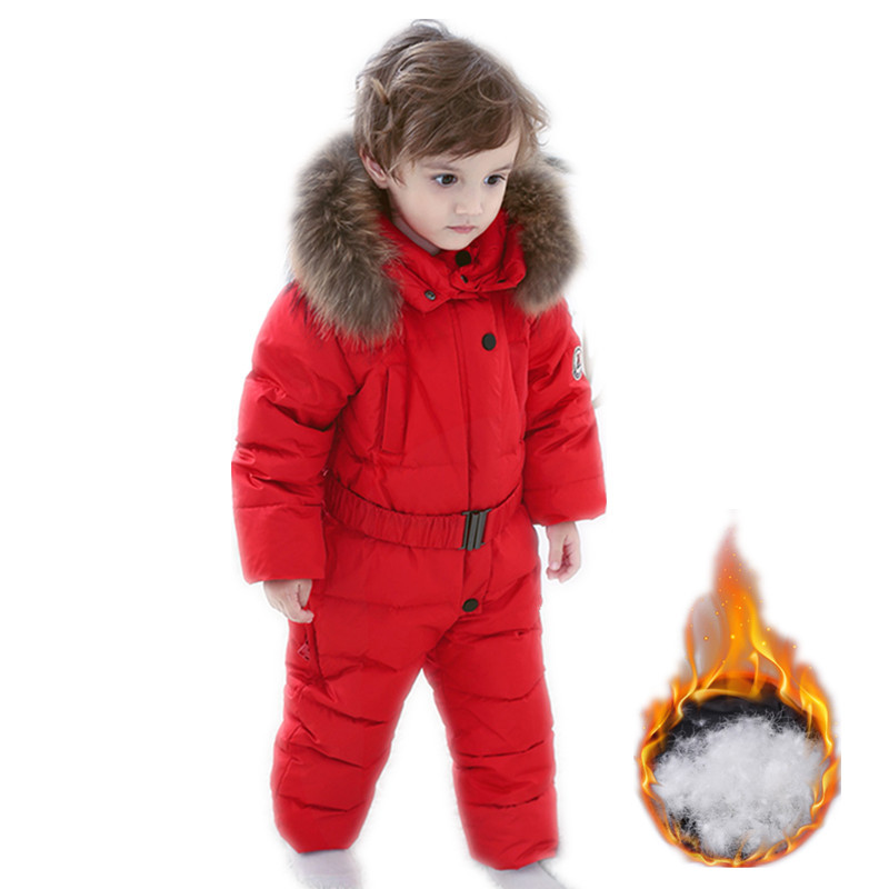 baby winter jumpsuit kids warm outerwear coats jacket for girls , baby clothing boys parka snow wear 6 24m snow wear baby boys girls rompers down coats winter 2017 baby clothing cotton girls coats fashion baby outerwear