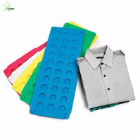 YI HONG Clothes Folder Board Clothing Laundry Folding Board Storage Magic Clothes Folder Flip T Shirts