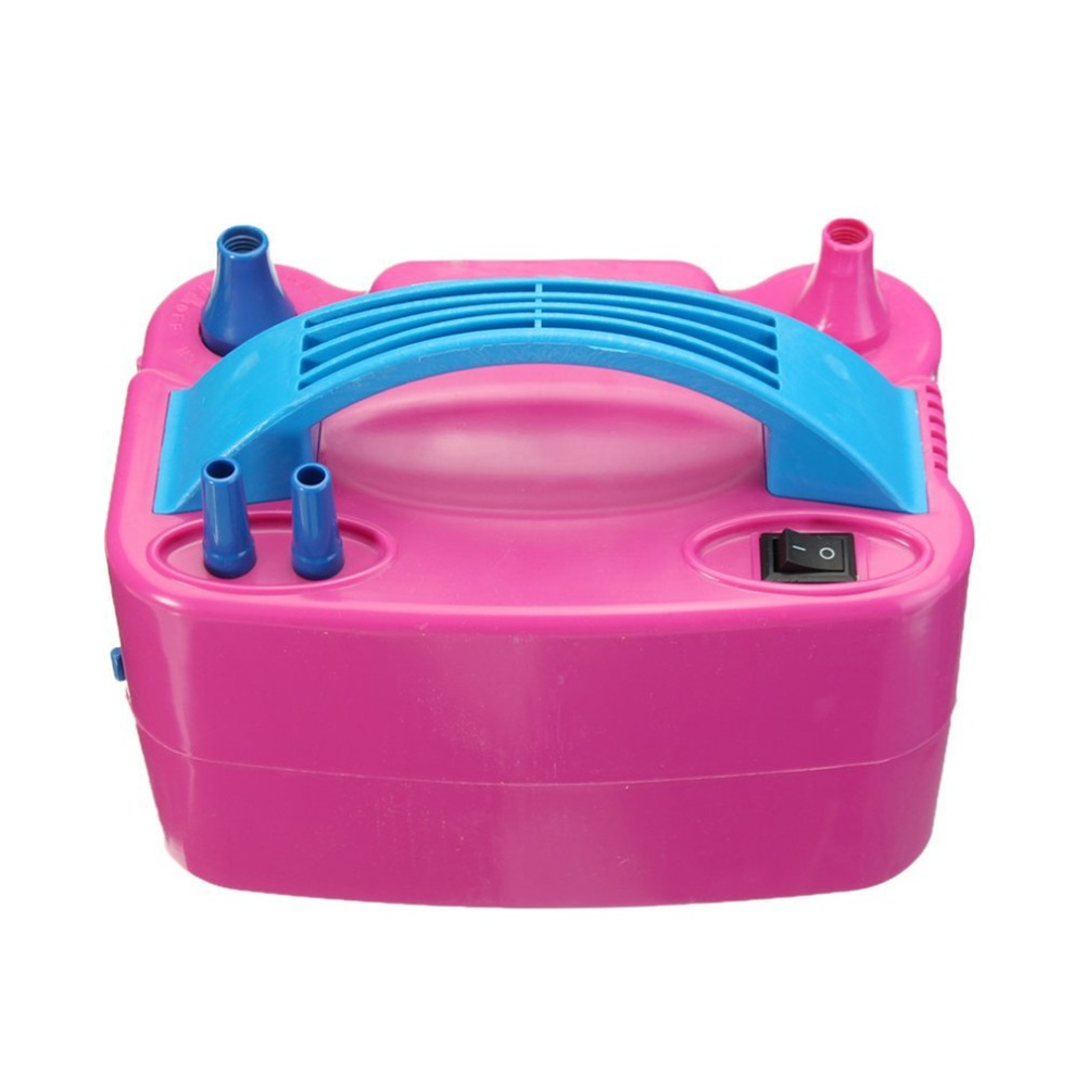 Image 5 - 220V Double Hole AC Inflatable Electric Air Balloon Pump Electric Balloon Inflator Pump Portable Air Blower-in Inflatable Pump from Automobiles & Motorcycles