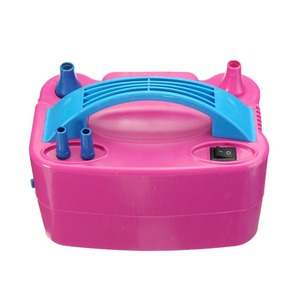 Image 5 - 220V Electric Balloon Inflator Pump AC Plug Double Hole Nozzle Air Compressor Inflatable Electric Balloon Pump Air Blower