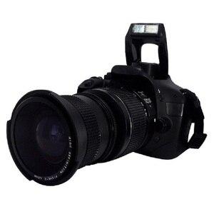 Image 5 - Lightdow 52 MILLIMETRI 0.35x Fisheye Super Wide Angle Lens + Macro per Nikon D7100 D5200 D5100 D3100 D90 D60 con 18 55mm Lens