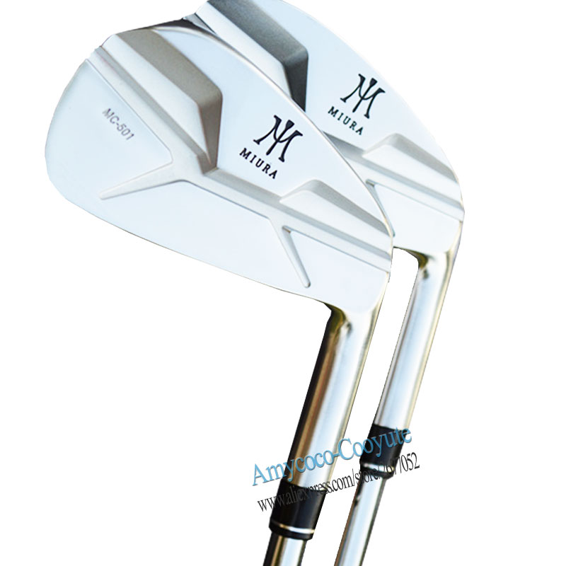 New Golf Clubs MIURA MC-501 Golf Irons 4-9P irons Golf Set Steel shaft or Graphite Clubs shaft and grips Cooyute Free shipping