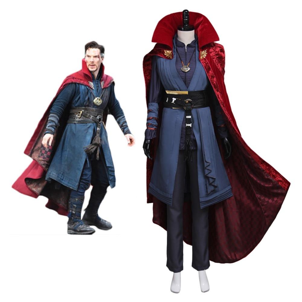 Cosplaydiy Doctor Strange Women Version  Stephen Steve Vincent Strange Cosplay Costume Doctor Strange Costume L320