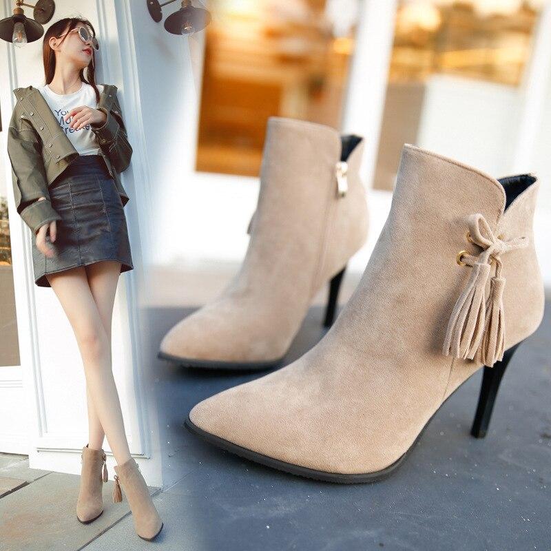 pretty nice 9bca4 34023 shoes woman red bottom high heels ladies pumps 2018 stilettos women pink  winter designer kitten bow womens stilettoes shose