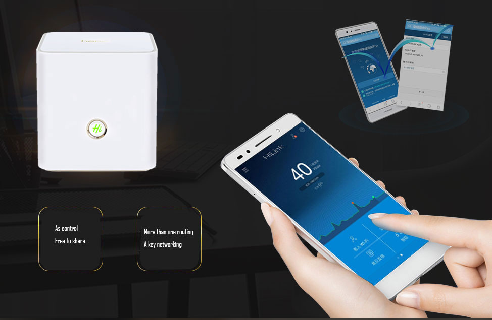 HUAWEI HONOR ROUTER X1 Wireless Router WiFi Repeater Extender WiFi 2 4GHz  300Mbps and 5GHz 867Mbps
