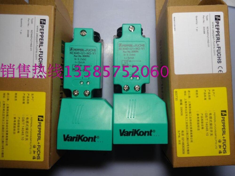 NCN40+U1+NO-V1 New High-Quality P+F Proximity Switch Sensor Warranty For One Year proximity switch ime12 04bpozc0s pnp nc m12 sick 100% brand new high quality warranty for one year