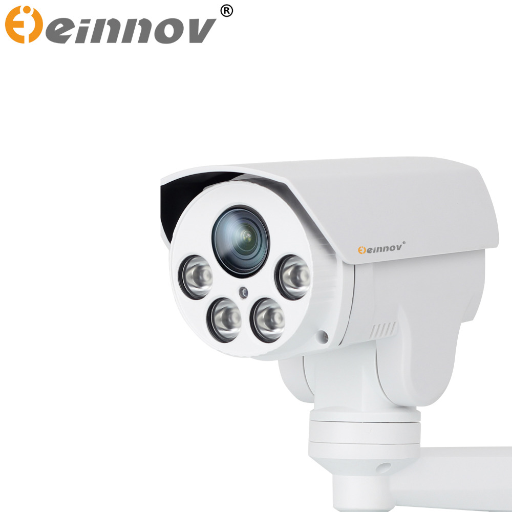 EINNoV PTZ 1080P POE IP Camera 4X Zoom 2.8-12mm Varifocal lens PTZ Outdoor Security CCTV ip Camera IR cut Onvif 16G 32G SD card mini 4 inch cctv 270x 650tvl outdoor 3 2 86 4 mm ir cut ptz