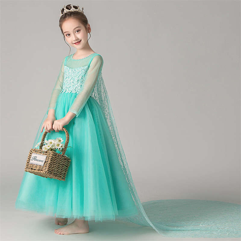 2019 Infant Toddler Elegant Pageant Tulle Lace Dresses for Weddings First Communion Children Girls Model Show Evening Prom Dress2019 Infant Toddler Elegant Pageant Tulle Lace Dresses for Weddings First Communion Children Girls Model Show Evening Prom Dress
