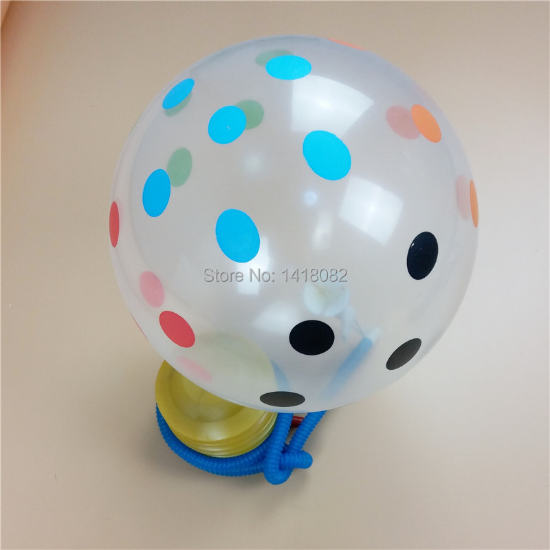 Hot 1pc Float inflatable toy balloon inflator air pump on foot on foot high quality articles and party balloon inflator pump in Ballons Accessories from Home Garden