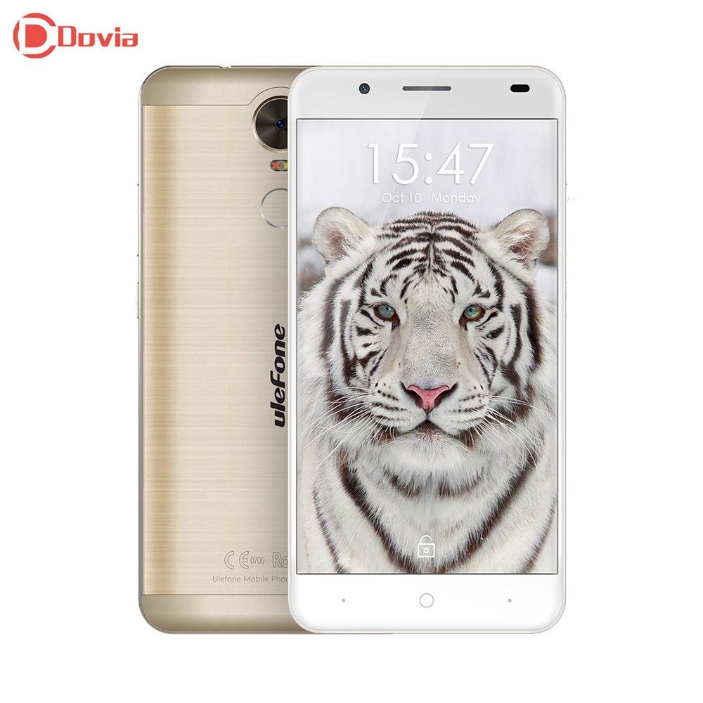Ulefone Tigre Lite 3G Phablet 5.5 pouce Android 6.0 MTK6580 Quad Core 1 GB RAM 16 GB ROM Capteur D'empreintes Digitales GPS Intelligent geste