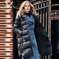 BOSIDENG women's clothing winter down coat long down jacket women thick warm coat outwear with hood B1601332