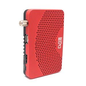 Image 3 - DVB S2 mini DVB TV BOX Ricevitore Digitale Satellitare supporto Biss Youtube IPTV Cccam USB 2.0 + USB wifi dongle set top box