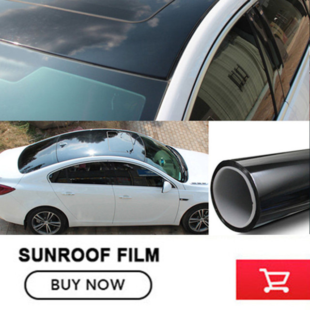 OPLARE Free Shipping Skylight Membrane Roof Membrane Grooved Car Decoration  Film Panoramic Sunroof Membrane Roof