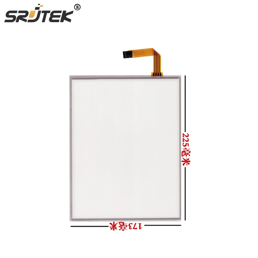 Srjtek 10.4 Inch 4 Wire For LQ104V1DG52 / 51 G104SN03 V.1 AMT 9509 225*173mm Resistive Touch screen Panel Digitizer Srjtek 10.4 Inch 4 Wire For LQ104V1DG52 / 51 G104SN03 V.1 AMT 9509 225*173mm Resistive Touch screen Panel Digitizer