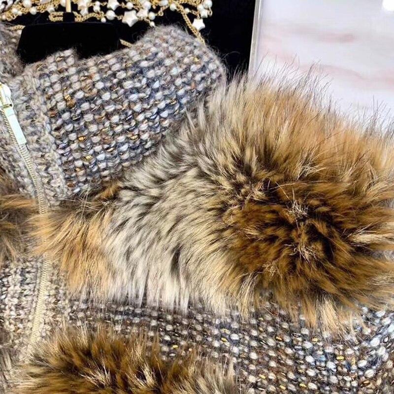 Pour Qualité Manteaux Les En Veste Chauffée Limitée Nouveautés 2019 Vêtements Mode Supérieure Femmes Laine IwfrIq