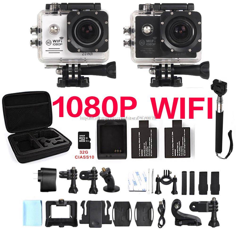 16MP WIFI 1080P camera SJ cam 4000 plus 5000 30FPS eken Full HD h9 xiao car mi go yi pro 3 Waterproof Action kamera Sport camera