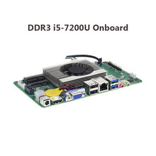 Материнская плата для процессора ITX i5 7200U 4K HD материнская плата Mini DDR4 mSATA SATA Mini PCI-e материнская плата ITX mini(China)