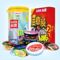 ELASUN 40 pcs/Lot préservatifs latex naturel fil pratiques G spot Ultra mince préservatifs pour hommes sex toys manchon pénis elasun 40 adulte