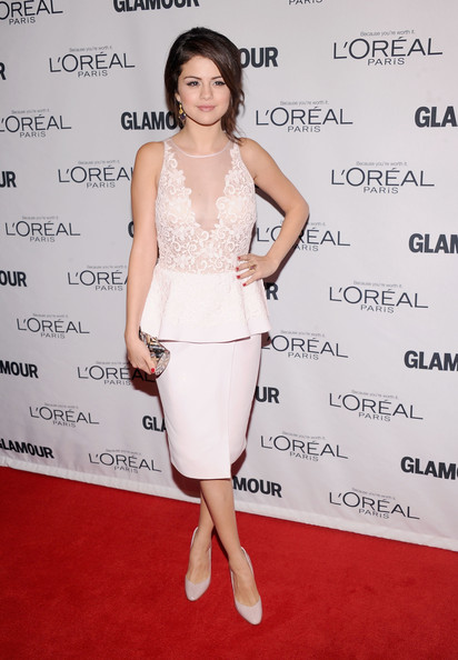 Selena Gomez Dress 2015 Cocktail Dresses A Line Scoop Off The