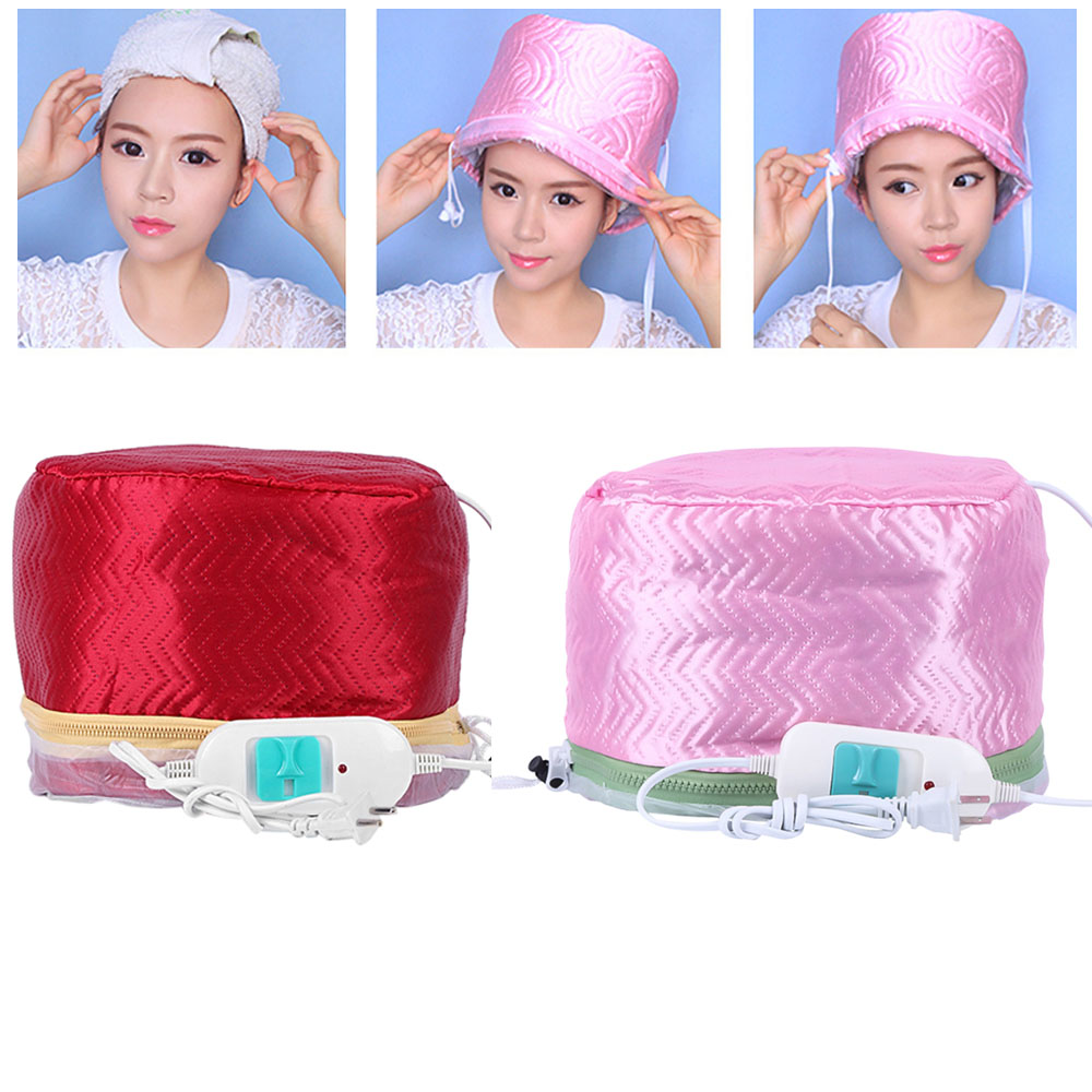 Electric SPA Hair Care Cap Hair Thermal Treatment Beauty Steamer Security Heating Electric Hair Nourishing Hair Dryers