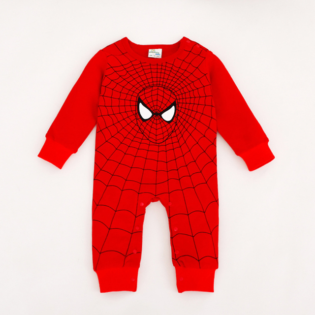 Neue Stil Baby Neugeborene Baby Kleidung Nette Held Stil Superman Batman Spider-man Captain America Bebe 1 stücke HB032