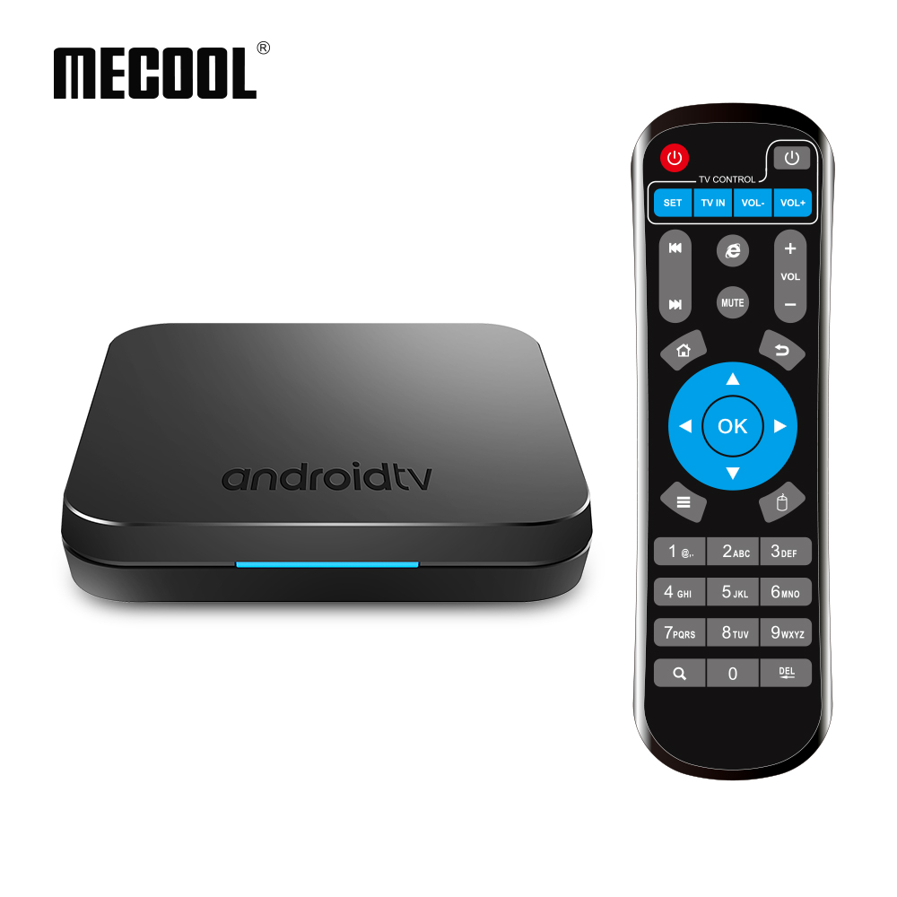 Mecool KM9 Android 9 0 Smart TV Box Voice Control S905X2 4GB DDR4 RAM 32GB ROM