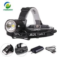 Led headlamp high power XPL V6 XHP50 30000lumens headlight usb rechargeable waterproof head lamp 18650 battery fishing mining