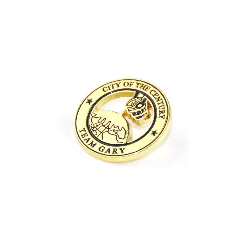 Hollow Cheap Lapel Pin Customize Logo K200344