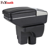 Car Armrest Box Central Console Arm Store Content Box Cup Holder Ashtray Seat Armrests Styling For Chevrolet Sail 3 2015-2018 armrest box for skoda octavia a5 yeti 2007 2014 central console arm store content box cup holder ashtray interior car styling